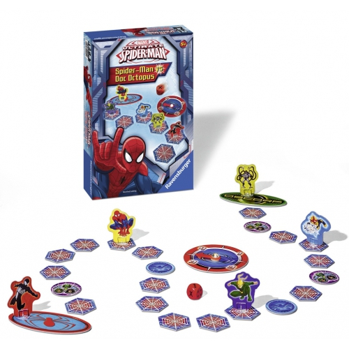 Ultimate Spiderman 'Spiderman vs Doc Octopus' Board Game Puzzle