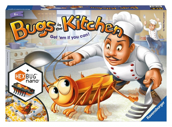 Bugs In The Kitchen Board Game Puzzle