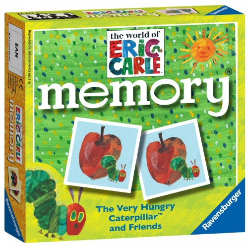 The Very Hungry Caterpillar Memory Game Puzzle