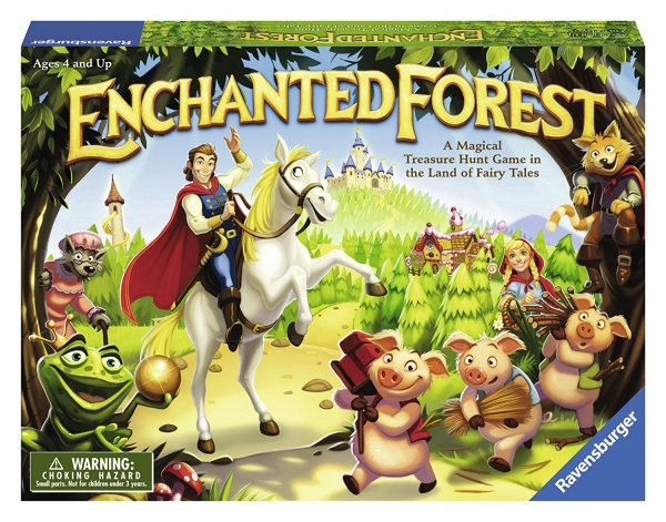 Disney Enchanted Forest Board Game