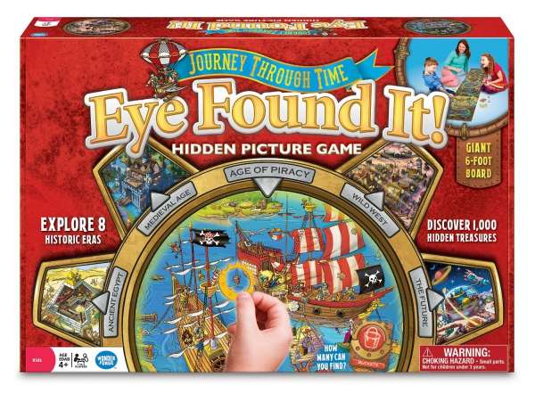 Eye Found It 'Journey Through Time' Board Game