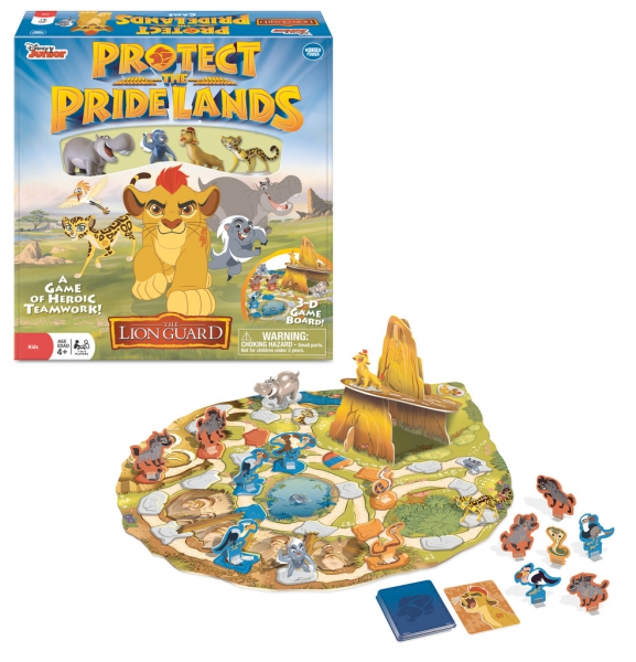 Disney The Lion Guard 'Protect Pride Lands' 3d Board Game