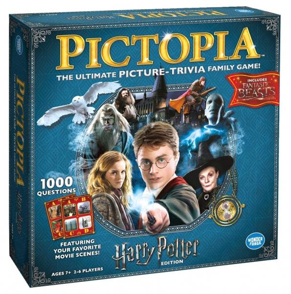 Harry Potter Pictopia Edition The Picture Trivia Board Game