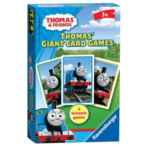 Thomas The Tank Engine Giant Card Game Puzzle