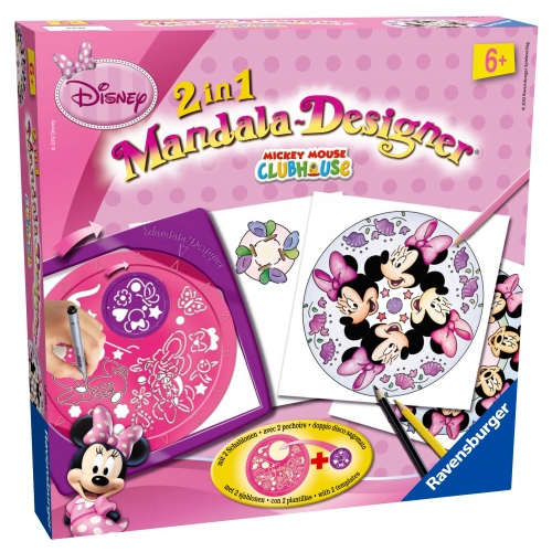 Disney Minnie Mouse 2 In 1 Mandala Designer Puzzle