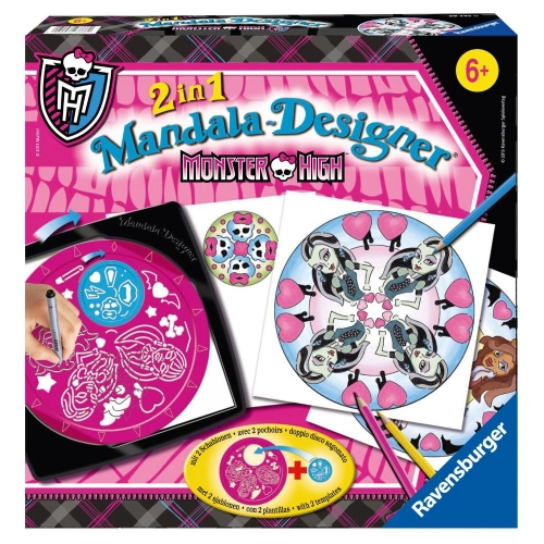 Monster High 2 In 1 Mandala Designer Puzzle