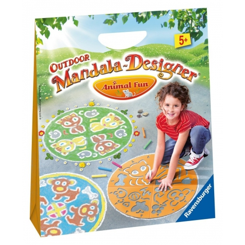 Animal Fun 'Outdoor' Mandala Designer Puzzle