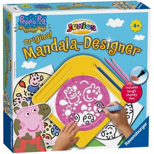 Peppa Pig Mandala Designer Puzzle