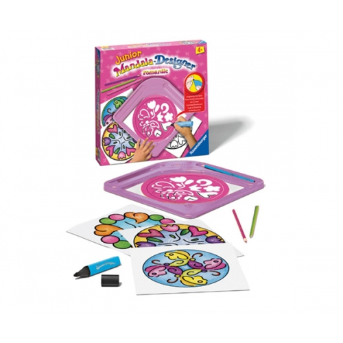 Junior Mandala Designer - Romantic Puzzle