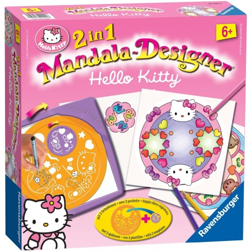 Hello Kitty 2 In 1 Mandala Designer Puzzle