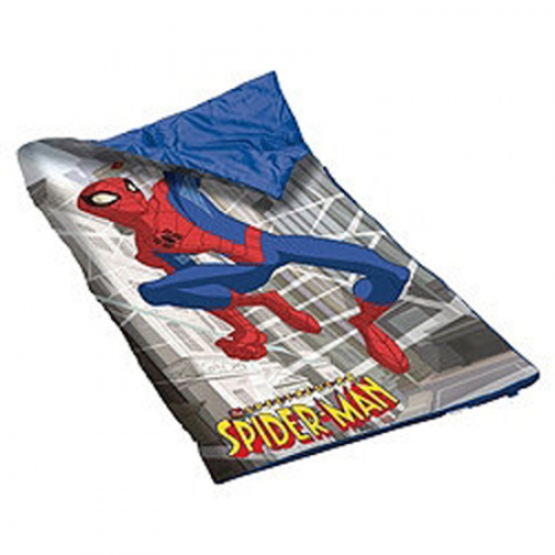 Spiderman 'The Spectacular' Sleeping Bag Camping Travel Sleepover Sac