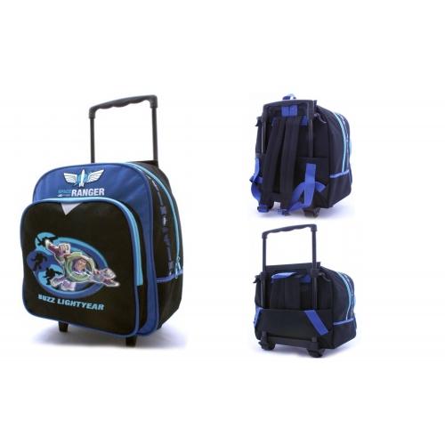 Disney Toy Story 'Buzz Lightyear' School Travel Trolley Roller Wheeled Bag