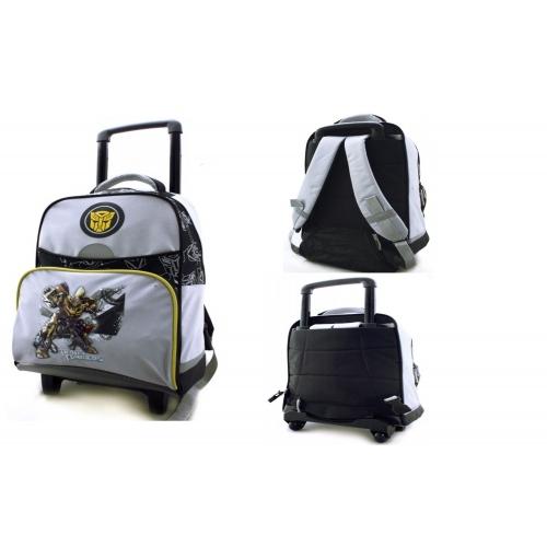Transformers 'Bumblebee' School Travel Trolley Roller Wheeled Bag