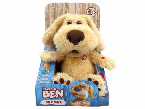 Talking Ben Animated Interactive Plush Soft Toy