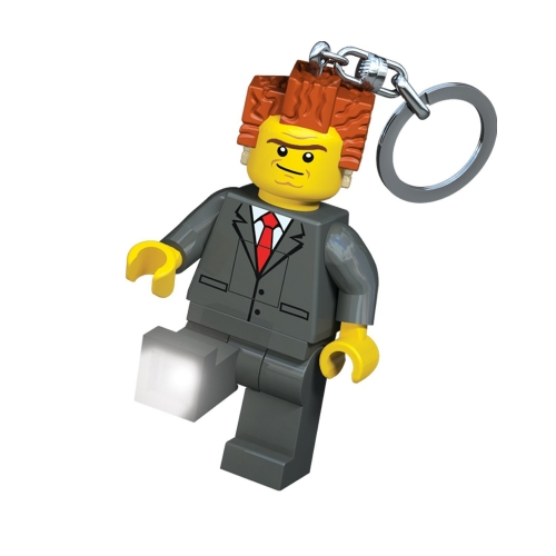 Lego Lights Movie President Business Keyring Led Light