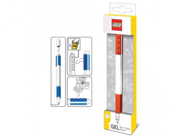 Lego 'Red' Gel Pen Stationery