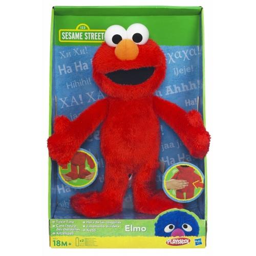 Sesame Street Tickle Time 'Elmo' Plush Soft Toy