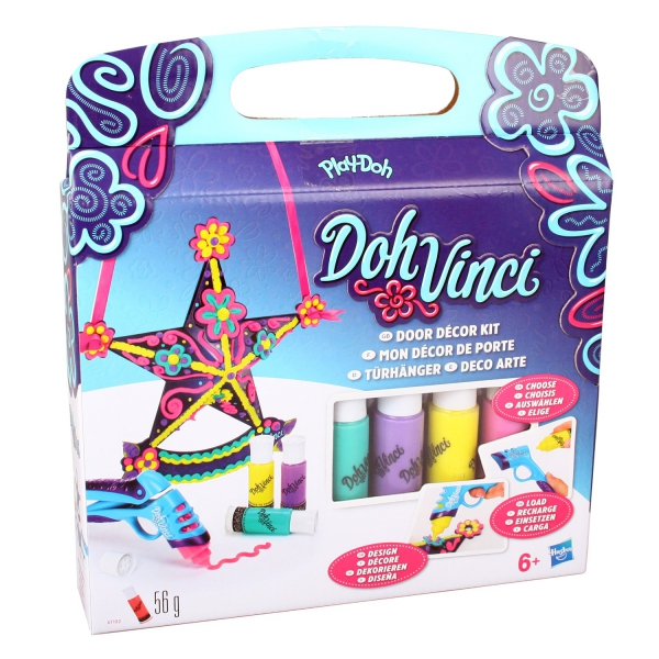 Play-doh 'Dohvinci' Playset Door Decor Kit Kids Creativity