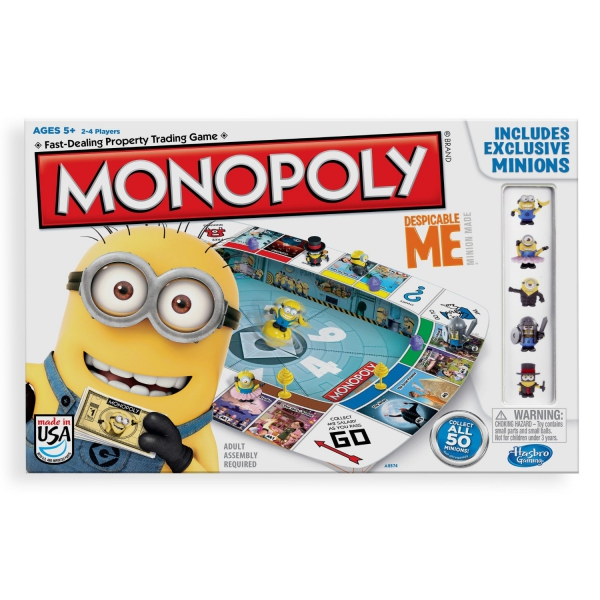 Despicable Me Minions 'Monopoly' Board Game