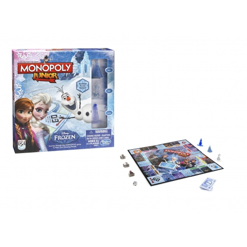 Disney Frozen Anna, Elsa & Olaf Junior 'Monopoly' Board Game