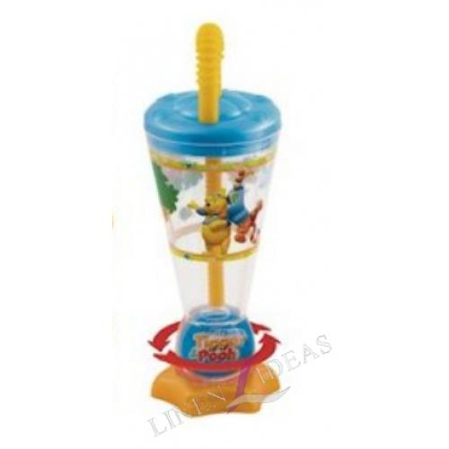 Winnie The Pooh Twisty Straw Tumbler