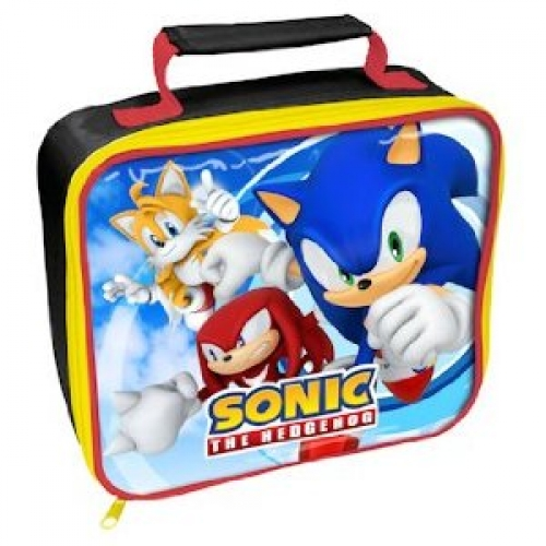 Sonic The Hedgehog School Rectangle Lunch Bag