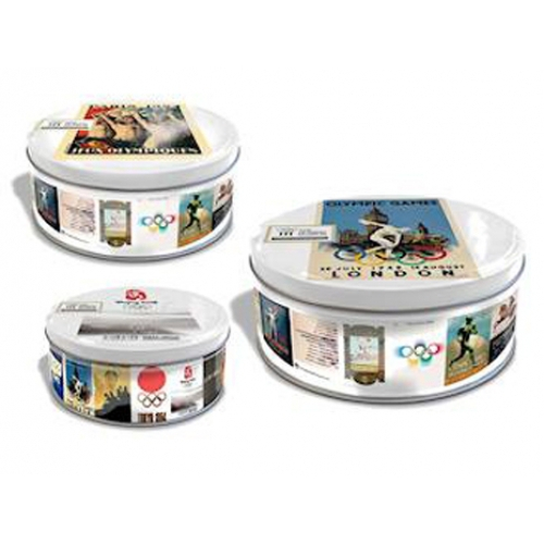 Storage Set Olympics London Wembley 2012 'Historic' Cake Kitchen Accessories