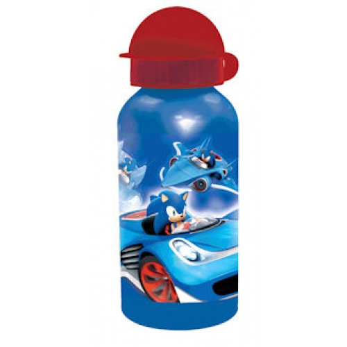 Sonic The Hedgehog 400ml Aluminum Water Bottle