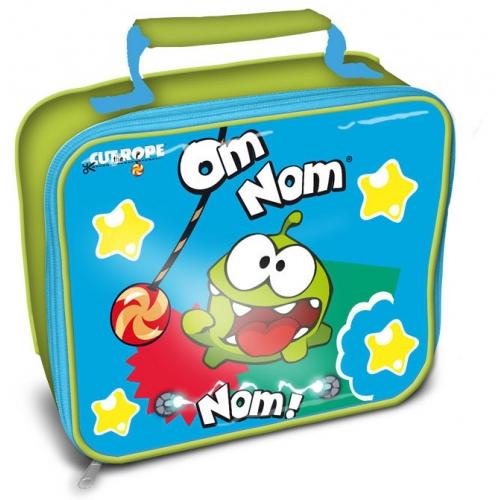 Cut The Rope 'Om Nom Nom' School Rectangle Lunch Bag
