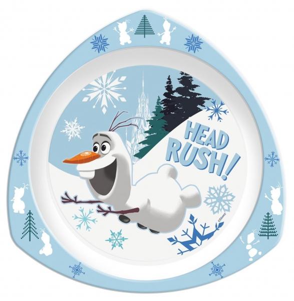 Disney Frozen 'Olaf' Triangle Plate