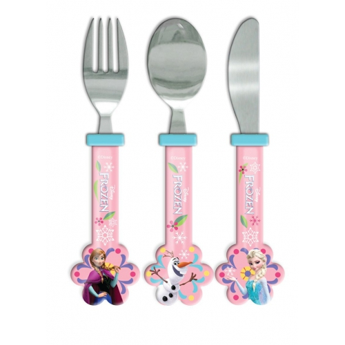 Disney Frozen Elsa & Anna 'Follow Your Heart' Cutlery