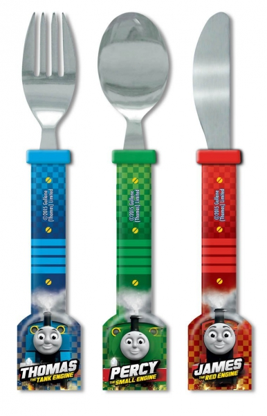 Thomas The Tank Engine 'Velocity' Cutlery