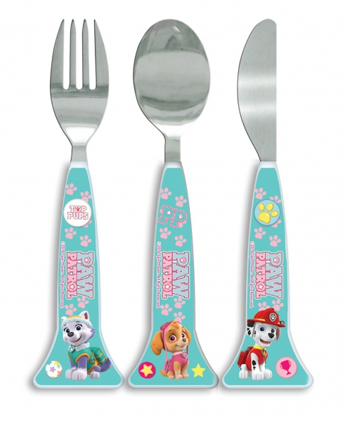 Paw Patrol 'Girls' Shaped Cutlery