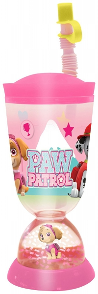 Paw Patrol Girls Glitter Dome Bubble Tumbler