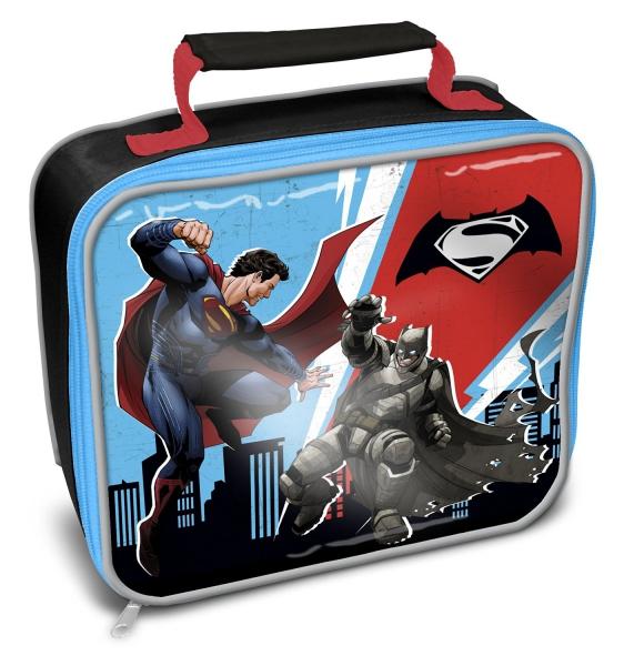 Batman vs Superman 'Rectangle' School Premium Lunch Bag Insulated