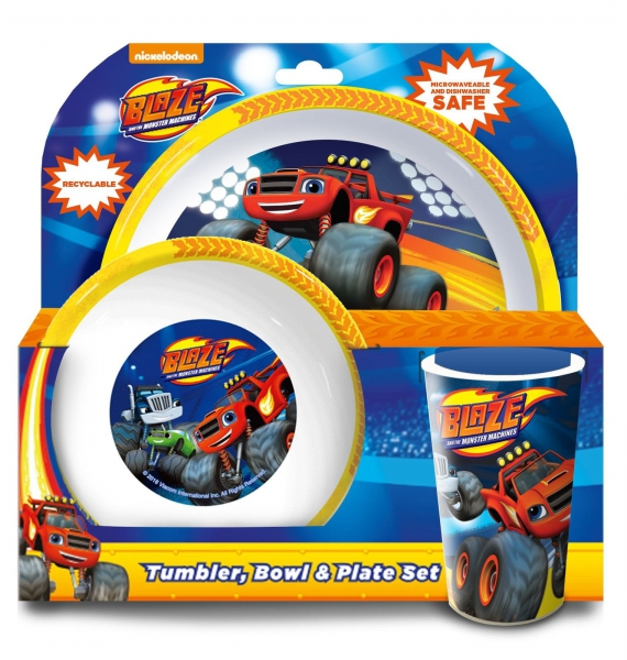 Blaze and The Monster Machines Tbp Dinner Set