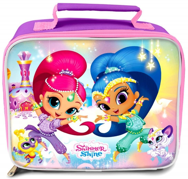 Shimmer & Shine 'Friends' School Premium Lunch Bag Insulated