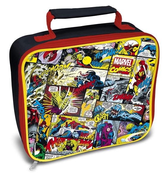 Marvel Comics Avengers School Rectangle Lunch Bag