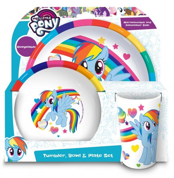 My Little Pony 'Friends' Dinner Set