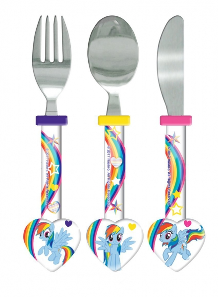 My Little Pony 'Heart Shaped' Cutlery