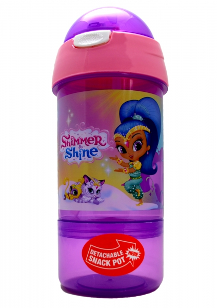 Shimmer & Shine 'Friends' Sip N Snack Bottle Pot 2 In 1