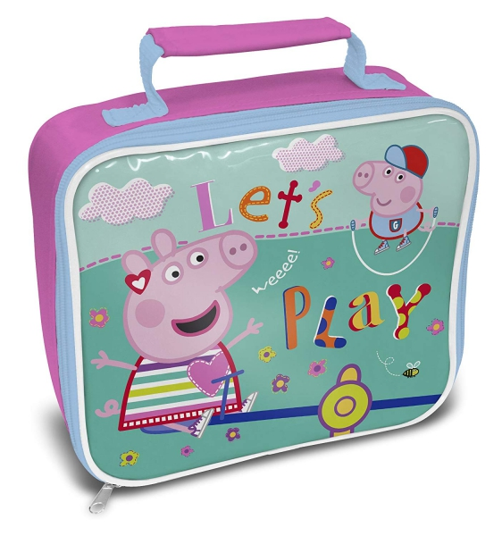 Peppa Pig Play School Rectangle Lunch Bag