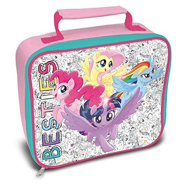My Little Pony Besties School Rectangle Lunch Bag