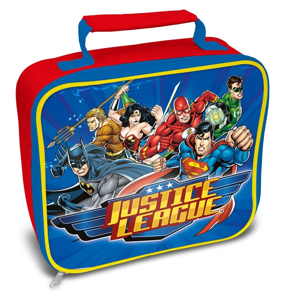 Justice League School Rectangle Lunch Bag