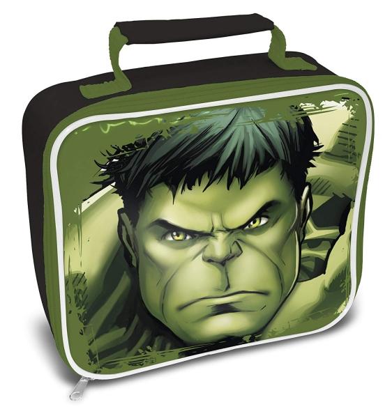 Marvel Hulk School Rectangle Lunch Bag