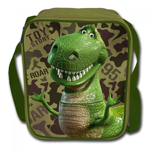 Disney Toy Story 'Rex' School Premium Lunch Bag Insulated