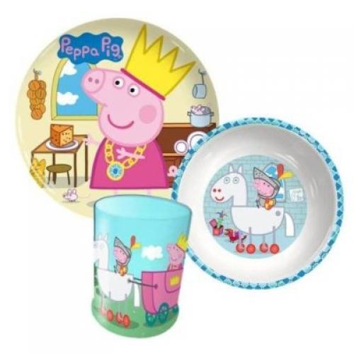 Peppa Pig Princess Dinner Set