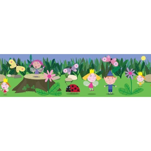 Ben and Holly' S Little Kingdom 7inch Border Wall Decoration