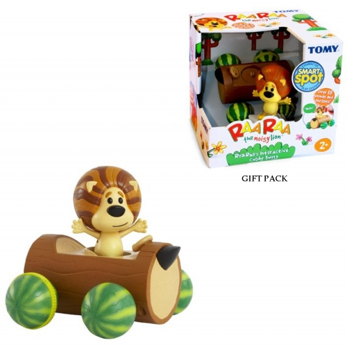 Raa The Noisy Lion 'Interactive Cubby Buggy'' Toy