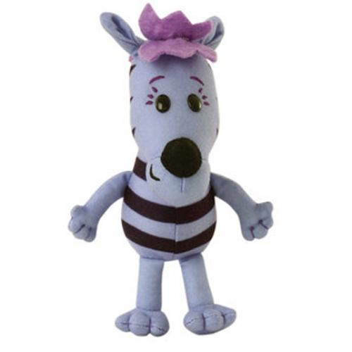 Raa The Noisy Lion 'Zebby' 6 inch Plush Soft Toy